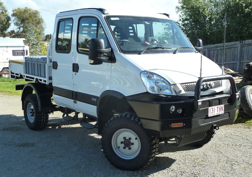 iveco daily 55s17 4x4